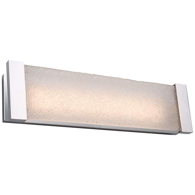 """Artcraft Barrett 26"""" Wide Brushed Nickel LED Bath"""
