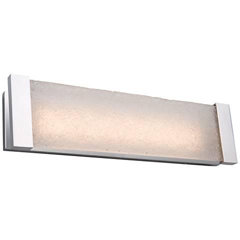 "Artcraft Barrett 26"" Wide Brushed Nickel LED Bath Light"