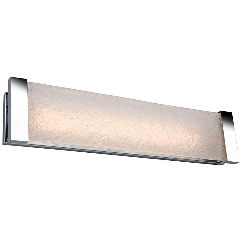 "Artcraft Barrett 26"" Wide Chrome LED Bath Light"