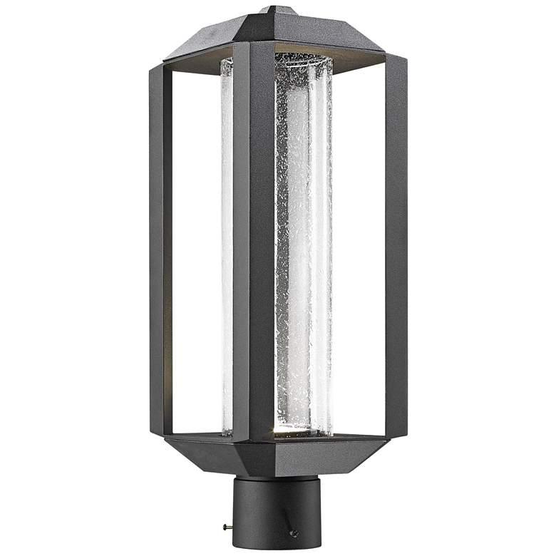 "Artcraft Wexford 19 3/4"" High Black LED Outdoor Post Light"