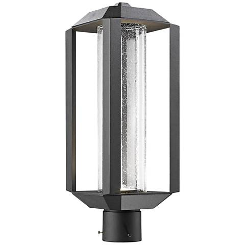 Artcraft wexford 19 34 high black led outdoor post light 9j234 artcraft wexford 19 34 high black led outdoor post light aloadofball Image collections