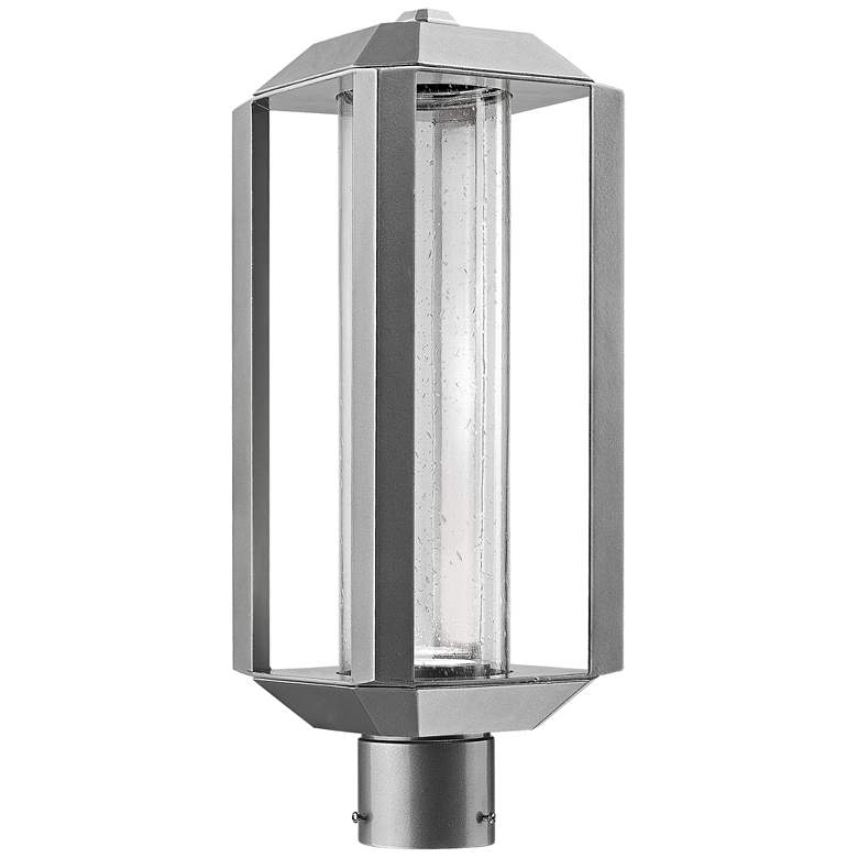 "Artcraft Wexford 19 3/4""H Silver Leaf LED Outdoor"