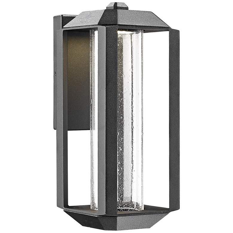 """Artcraft Wexford 13 1/2"""" High Black LED Outdoor Wall Light"""