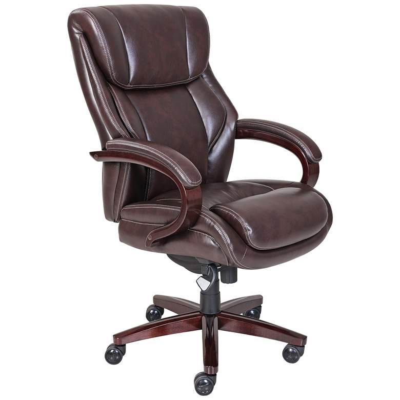 La-Z-Boy® Bellamy Coffee Brown Executive Office Chair