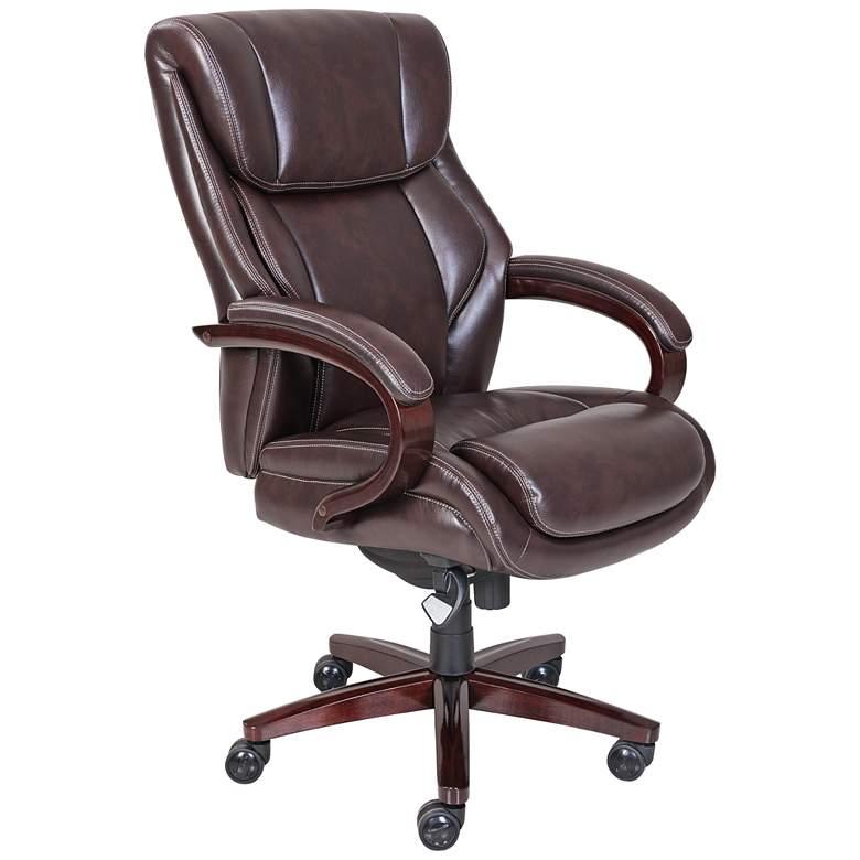 La-Z-Boy® Bellamy Coffee Brown Executive Office Chair