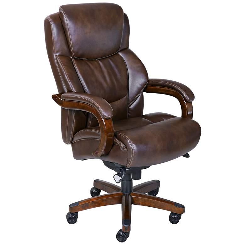 La-Z-Boy® Fairmont Chestnut Big/Tall Executive Chair