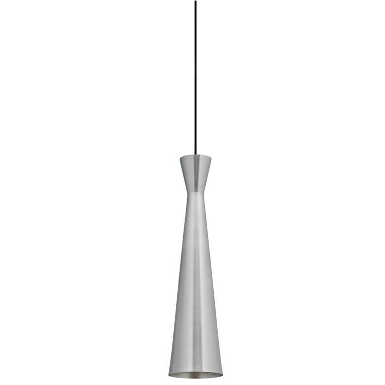 "Tech Lighting Windsor 4 1/2"" Wide Satin Nickel Mini Pendant"