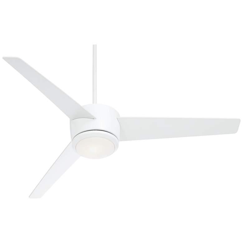 "54"" Epilogue White LED Ceiling Fan"