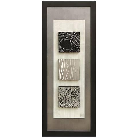 "Reflections II 16""x40"" Framed Wall Art"