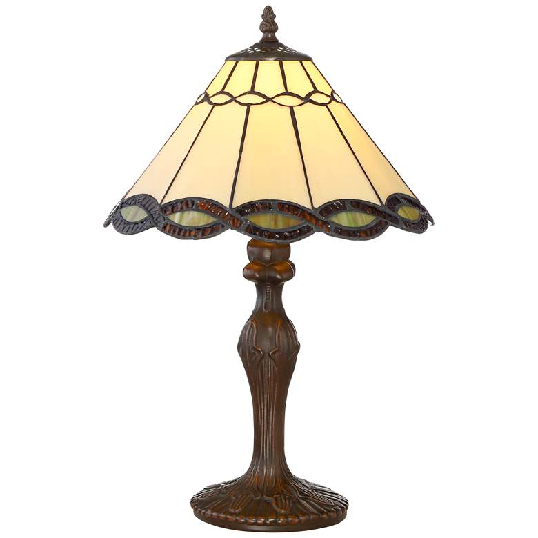 """Robert Louis Tiffany 18 1/2"""" High Camile Accent Table Lamp"""
