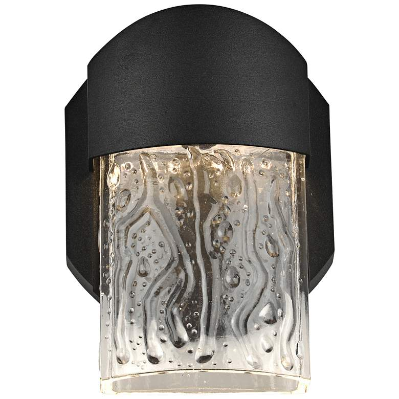 "Mist 5 3/4"" High Black LED Outdoor Wall Light"