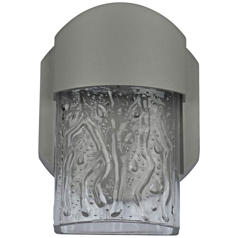 "Mist 5 3/4"" High Satin LED Outdoor Wall Light"