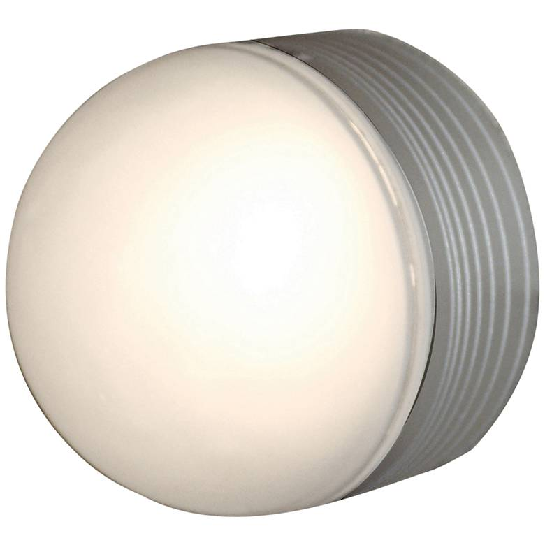 "MicroMoon 5"" High Satin LED Outdoor Wall Light"