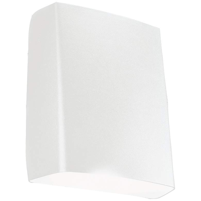 """Adapt 7 1/4"""" High White LED Outdoor Wall"""