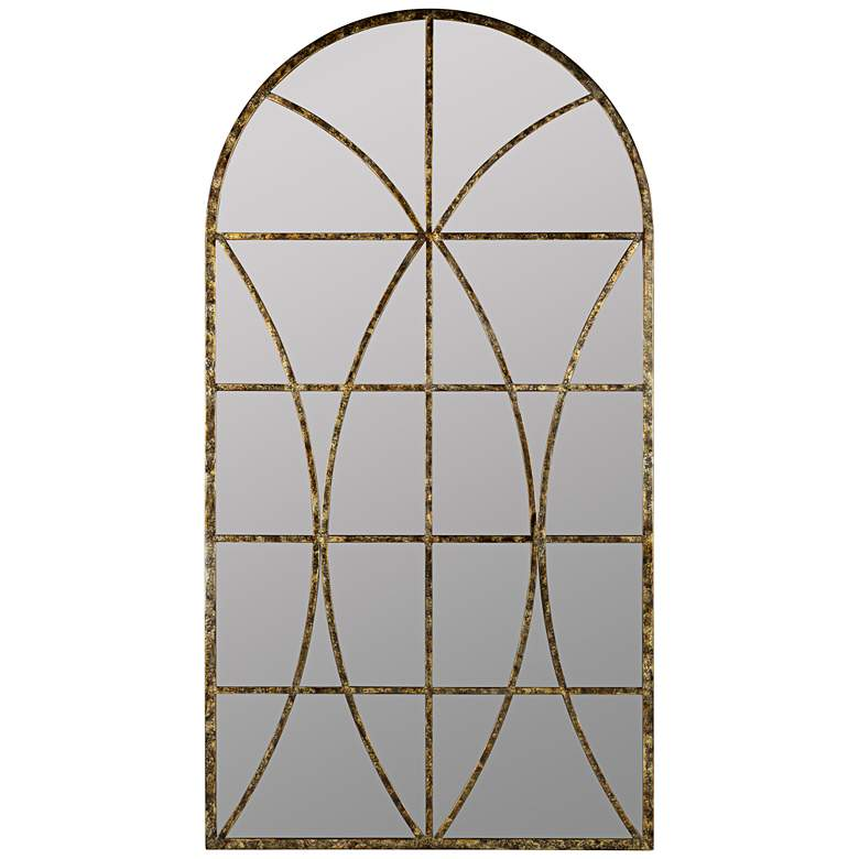 "Jarmo Aged Gold 31 1/2"" x 59"" Decorative Wall Mirror"