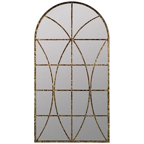 "Jarmo Aged Gold 31 1/2"" x 59"" Decorative Wall Mirror"