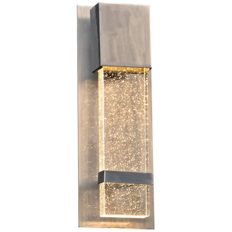 "Leda 13 3/4"" High Aluminum LED Outdoor Wall Light"