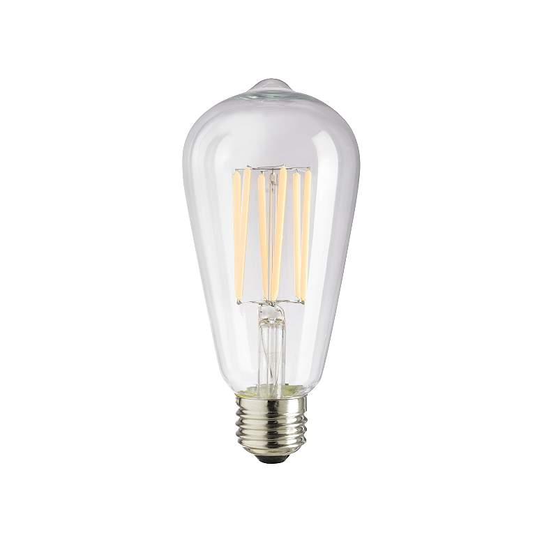 75 Watt Equivalent Clear 8 Watt LED Dimmable Edison Bulb