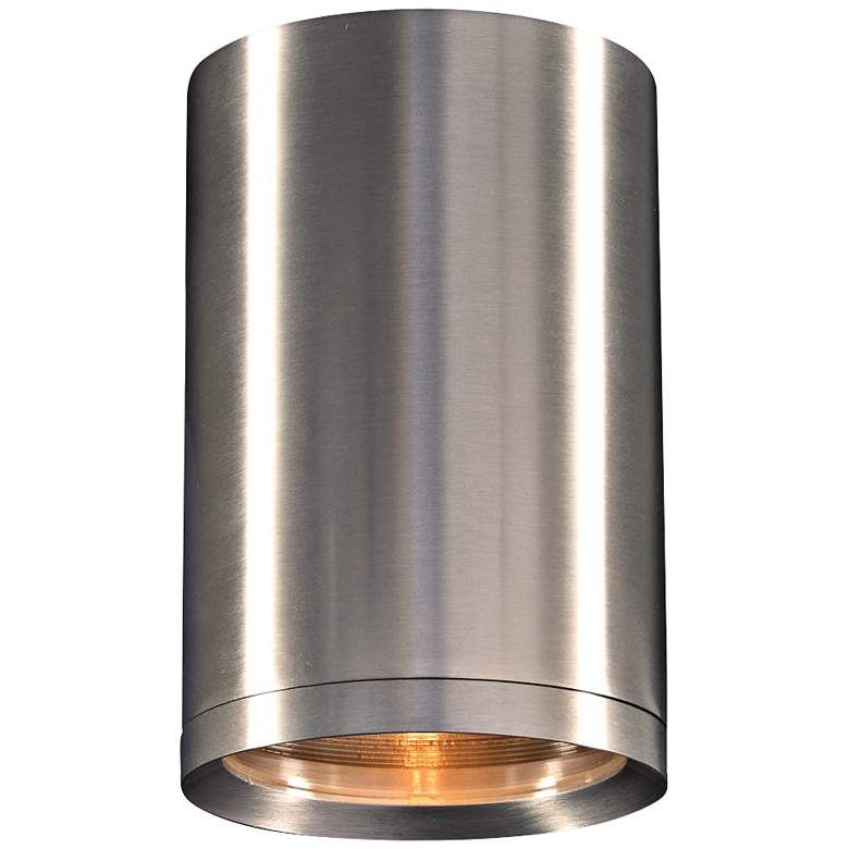 """Marco 5"""" Wide Brushed Aluminum LED Outdoor Ceiling Light"""