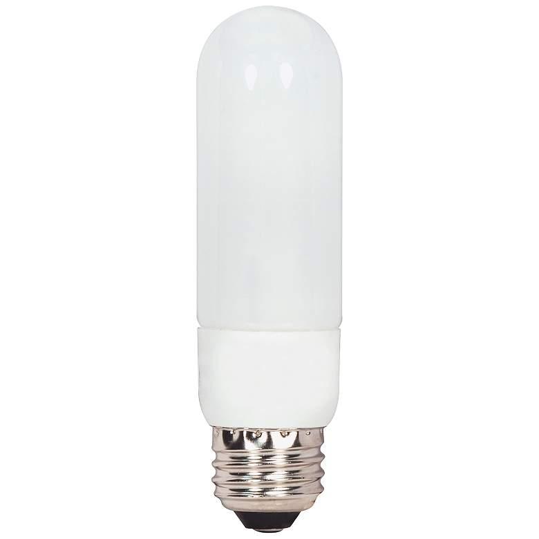 T10 Tube 7 Watt 5000K Medium Base CFL Bulb