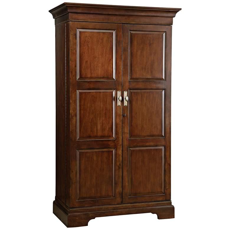 "Sonoma 75"" High Cherry 2-Door Wine and Bar Cabinet"