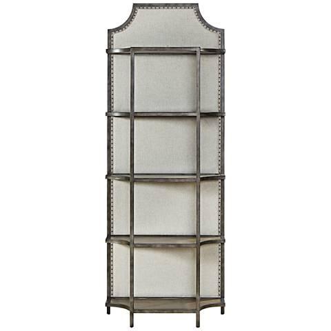 Sojourn Belgian Linen 5-Shelf Fresh Air Etagere