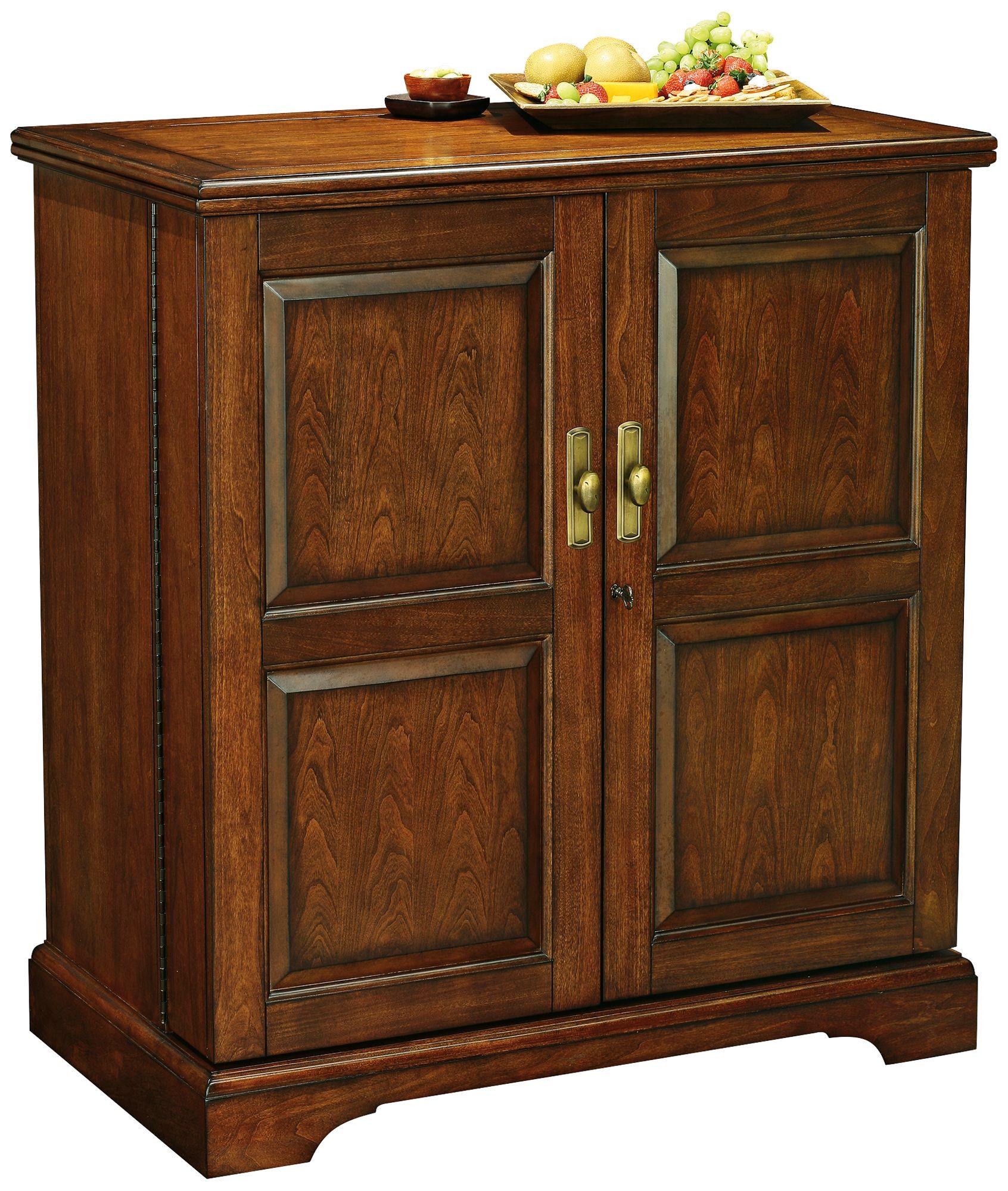 Superieur Lodi Americana Cherry 2 Door Wine And Bar Cabinet