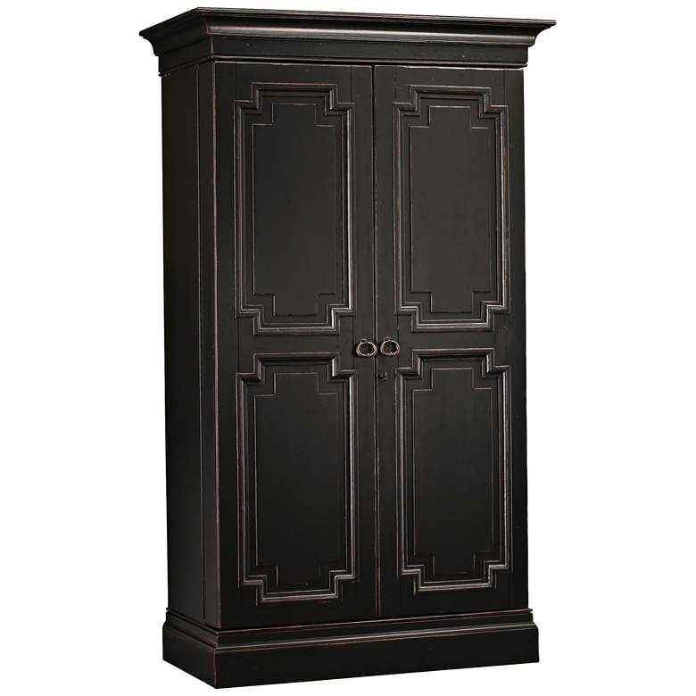 Fine Sambuca 75 High Worn Black 2 Door Wine And Bar Cabinet Home Interior And Landscaping Transignezvosmurscom