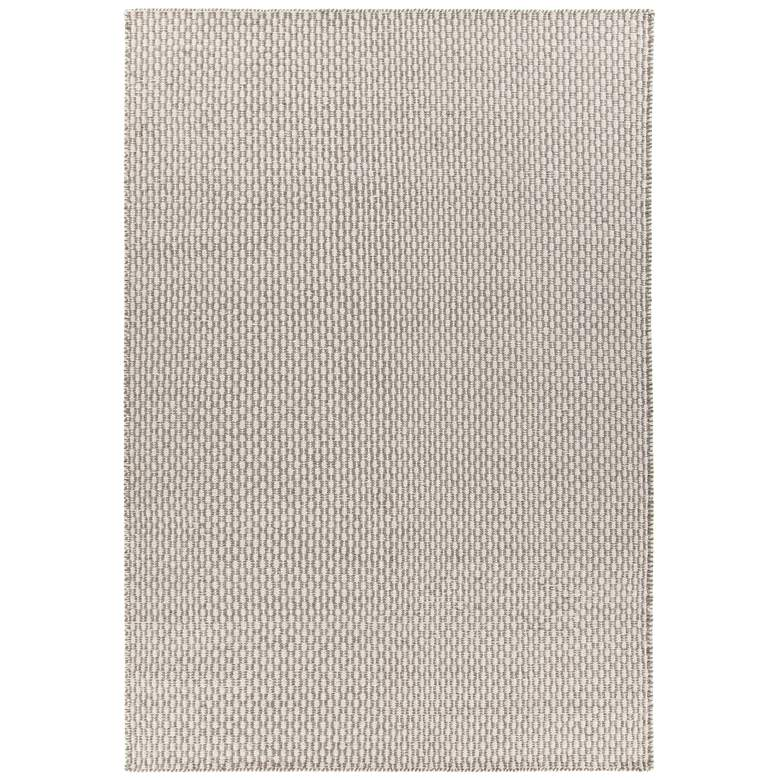 Chandra Bristol Gray and White Wool Area Rug