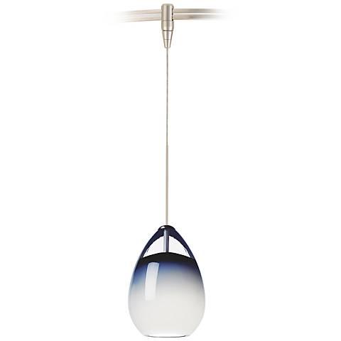 "Alina 4""W Satin Nickel LED Monorail Mini Pendant"