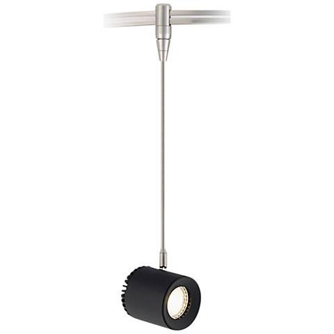 Tech Lighting Burk Black LED Monorail Mini Pendant