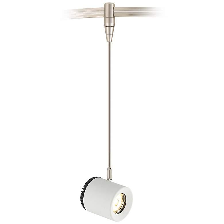 Tech Lighting Burk White LED Monorail Mini Pendant