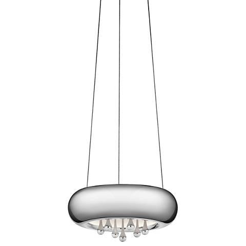 """Elan Lavelle 9 3/4"""" Wide LED Chrome Mini Pendant Light"""