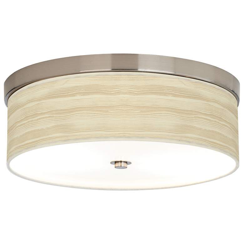 Birch Blonde Giclee Energy Efficient Ceiling Light