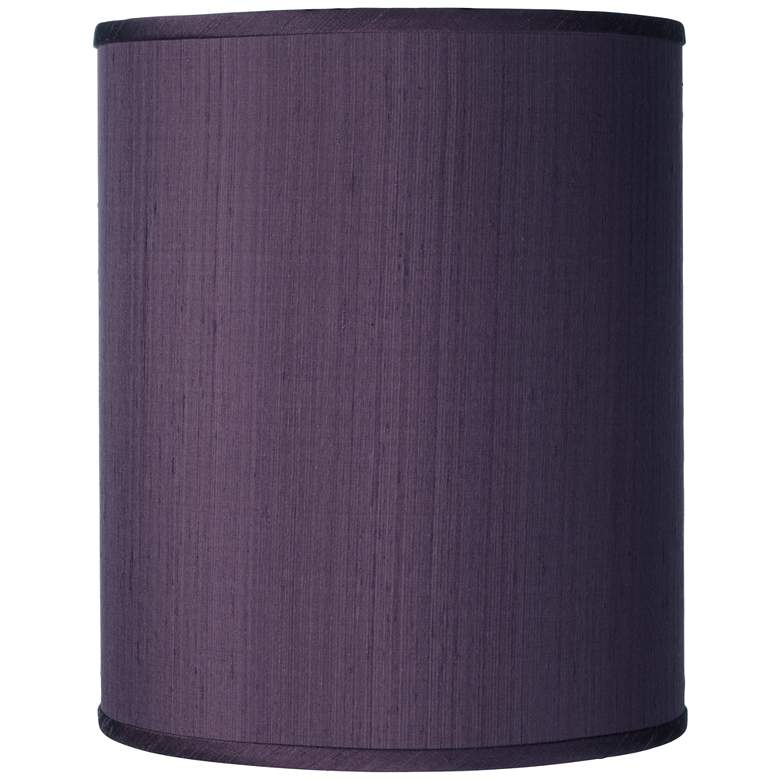 Eggplant Polyester Drum Shade 10x10x12 (Spider)