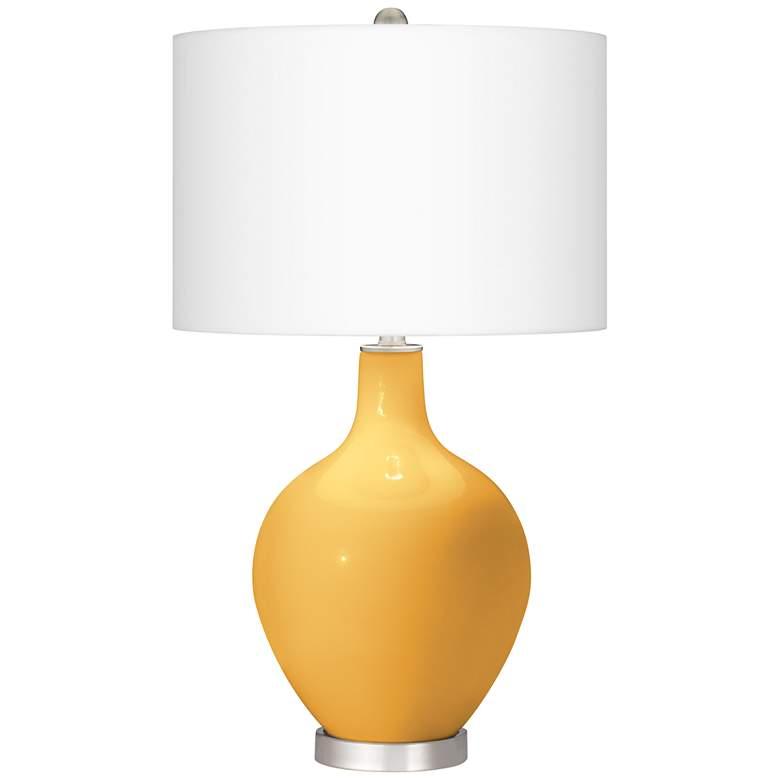 Goldenrod Ovo Table Lamp