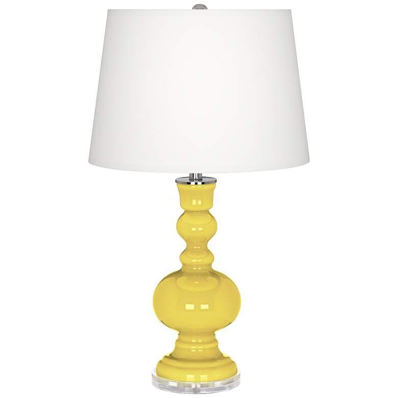 Lemon Twist Apothecary Table Lamp
