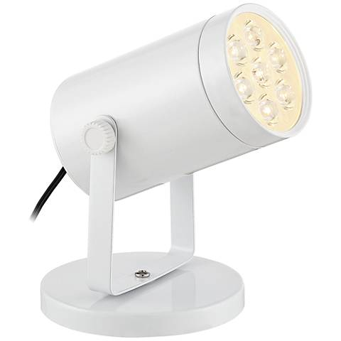 "Imperial White 4 1/2"" High LED Uplight"