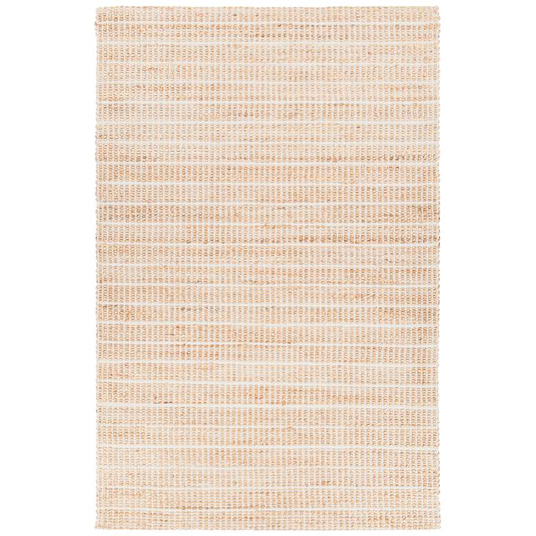 """Chandra Abacus 5'x7'6"""" Silver Hand-Woven Area Rug"""