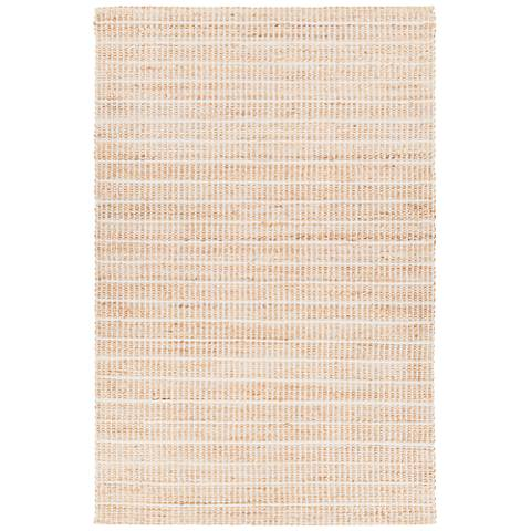Chandra Abacus Silver Hand-Woven Area Rug