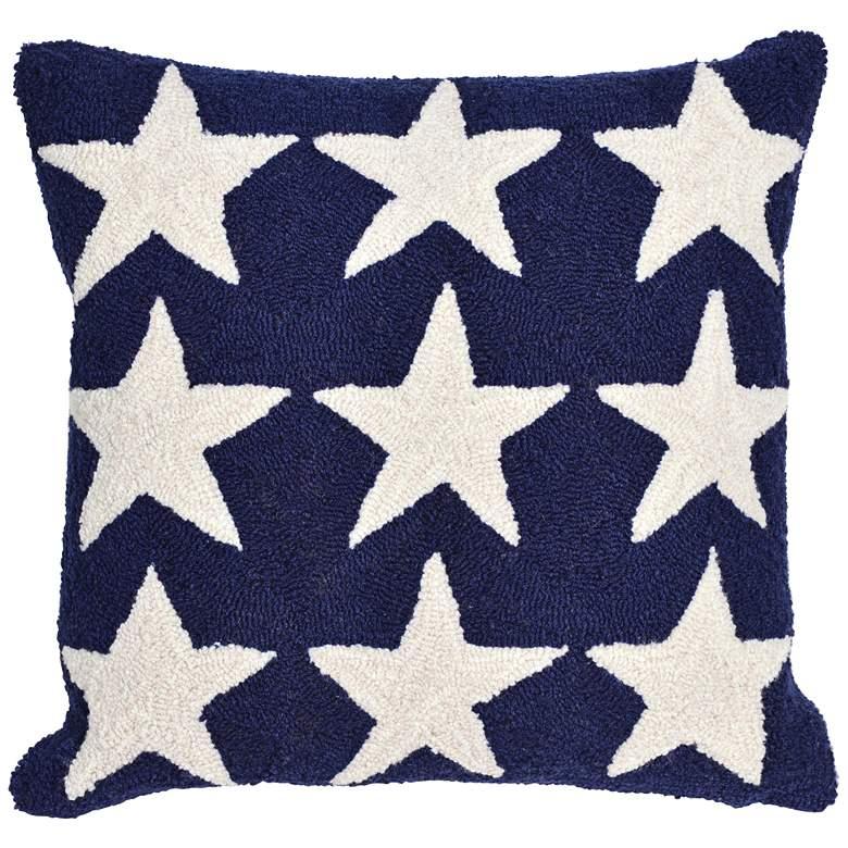 "Frontporch American Flag Stars 18"" Indoor-Outdoor Pillow"