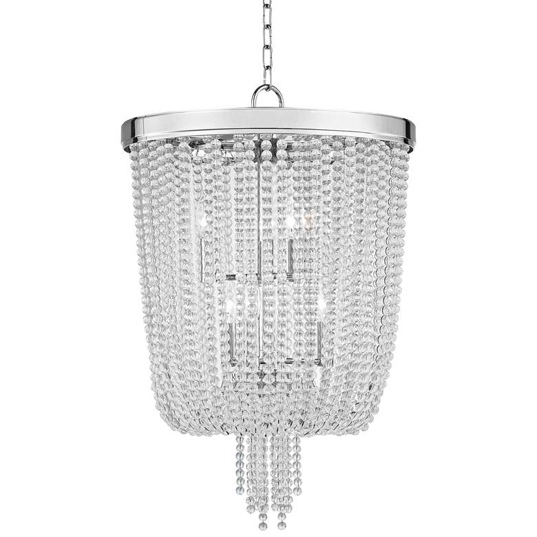 "Royalton 18 1/4"" Wide Polished Nickel Pendant Light"