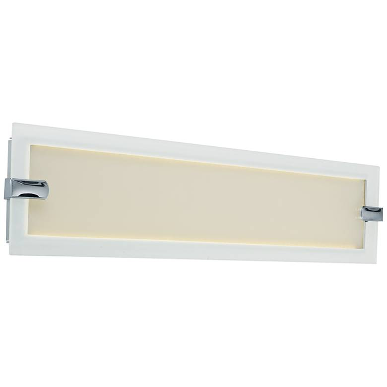 "Maxim Trim 23"" Wide Satin Nickel LED Bath Light"