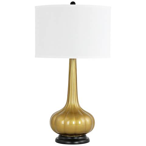 Rizzy Gold Genie Bottle Table Lamp