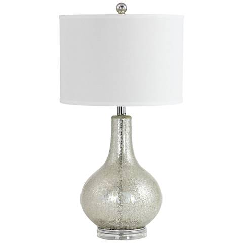 Caressa Antiqued Mercury Glass Table Lamp