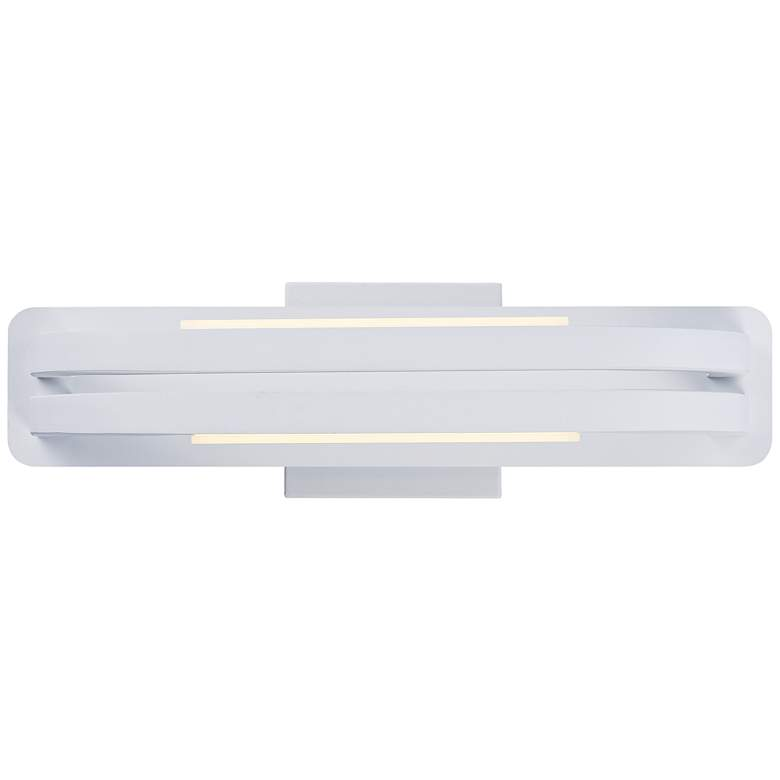 "ET2 Jibe 17 1/4"" Wide Matte White LED Wall Sconce"
