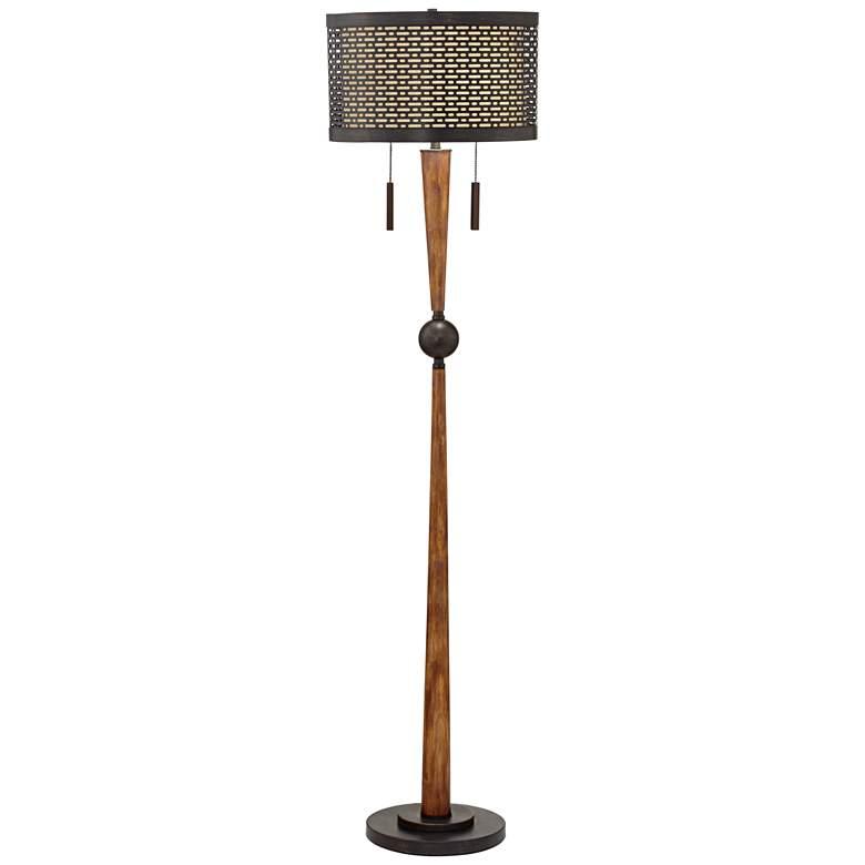 Franklin Iron Works Hunter Floor Lamp