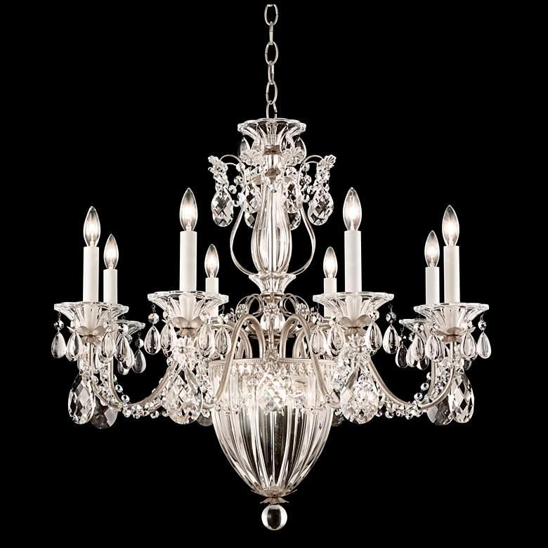 """Schonbek Bagatelle 26 1/2""""W Antique Silver Chandelier"""