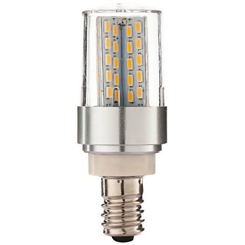 60 Watt Equivalent Clear 6 Watt LED E12 Minican Bulb