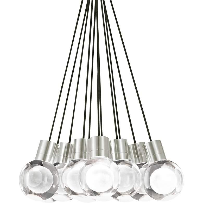 "Tech Lighting Mina 20"" Wide Satin Nickel Multi-Light Pendant"